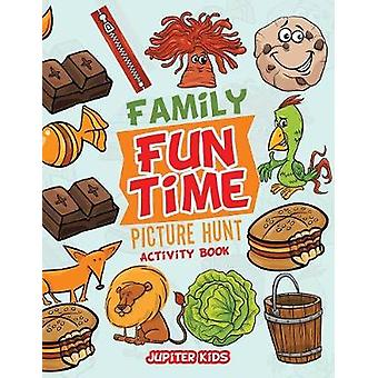 Family Fun Time Picture Hunt Activity Book by Jupiter Kids