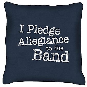 School Of Rock I Pledge Allegiance To The Band Cushion
