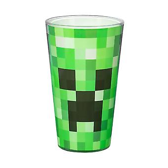 Minecraft, Large Drinking Glass - Creeper