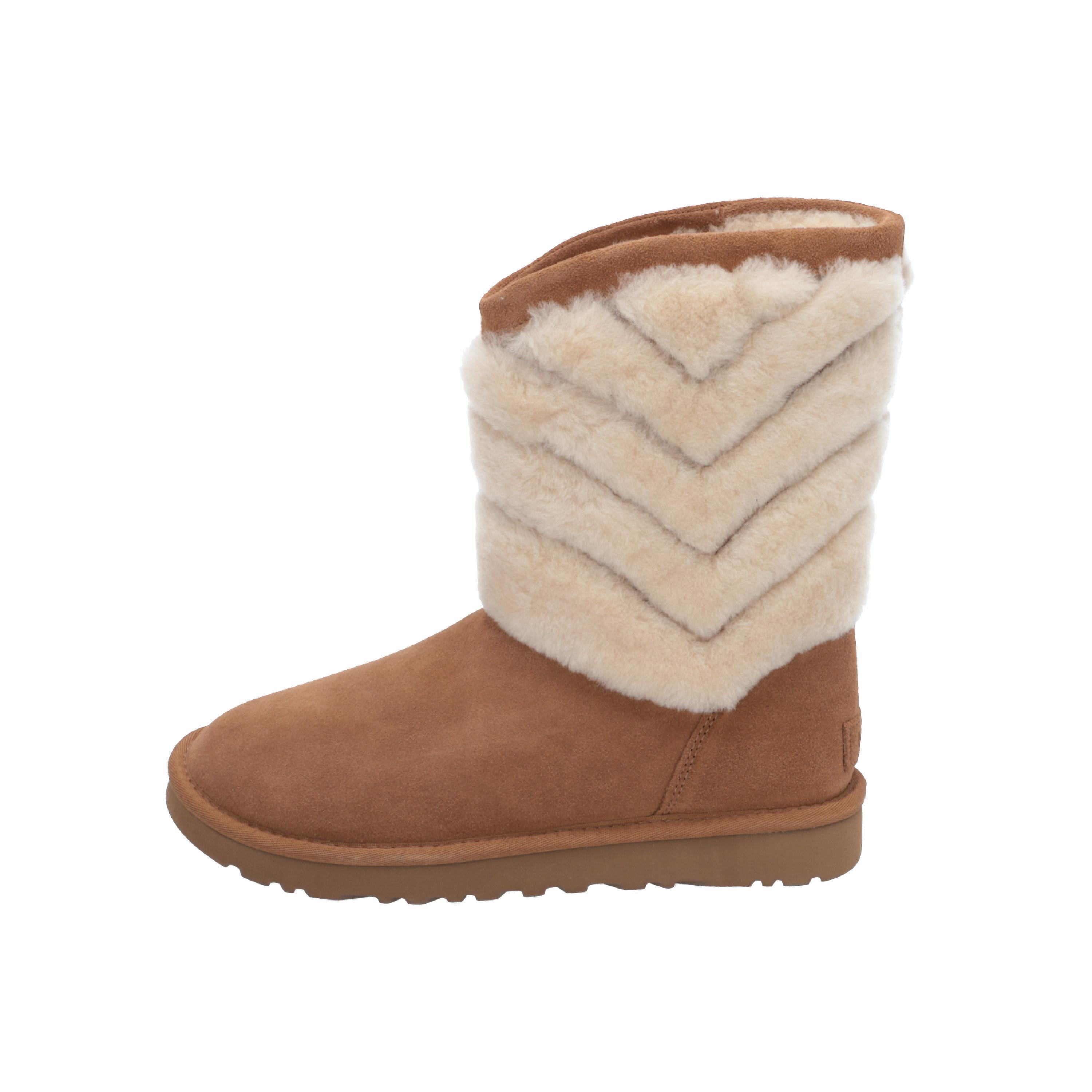 UGG TANIA Bottes pour femmes Brown Lace-Up Bottes Hiver XcQELE