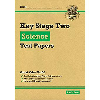 New KS2 Science Tests - Pack 2 by CGP Books - 9781789081220 Book