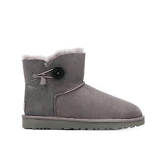 Ugg Ezcr013011 Women's Grey Suede Ankel Støvler
