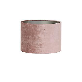 Light & obývacia valec odtieň 35x35x30cm drahokam staré ružové