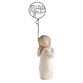 Willow Tree Miss You Balloon Figurine
