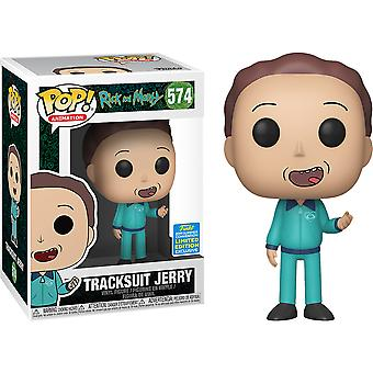 Rick und Morty Jerry in Track Anzug SDCC 2019 US Excl Pop!