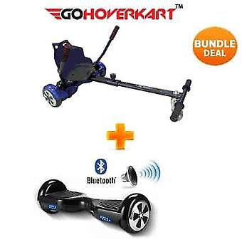 Hoverkart & 6.5 & Bluetooth Hoverboard Carbon Black Go Racer Bundle