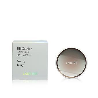 Bb kussen foundation (anti aging) spf 50 met extra bijvullen # nr. 13 ivoor 246627 2x15g/0.5oz