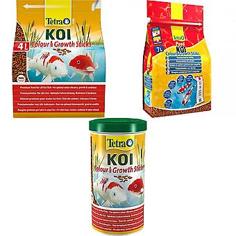 Tetra Koi Colour & Growth Sticks Fish Food