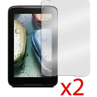 """for Lenovo  2x IdeaTab A1000 7"""" LCD Screen Protector Cover & Cloth"""