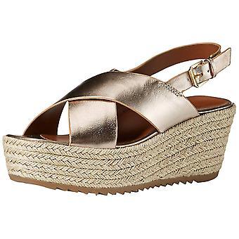 Naturalizer Frauen's Eiche Espadrille Keil Sandale