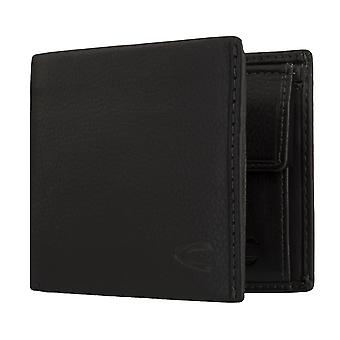 Sac à main camel active mens wallet portefeuille avec RFID protection noir 6338