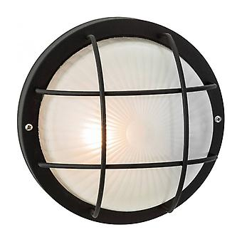 Wall / Ceiling Lamp Short, Black