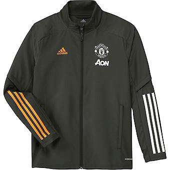 adidas Manchester United Presentation Jacket 2020 2021 Junior