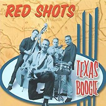 Red Shots - Texas Boogie [CD] Usa import