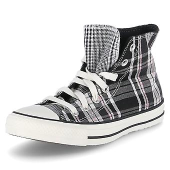 Converse Ctas HI 568896CBLACKWHITEEGRET   unisex shoes