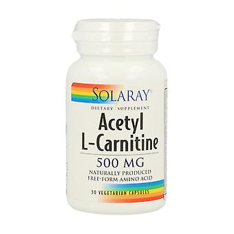 Acetyl L-Carnitine 30 vegetable capsules of 500mg