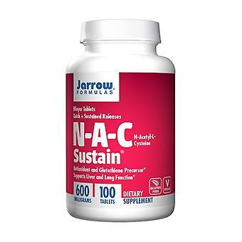 NAC Sustain 600 mg 100 tablettia