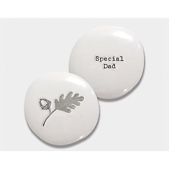 Spécial Papa Porcelain Pebble - Cracker Filler Cadeau