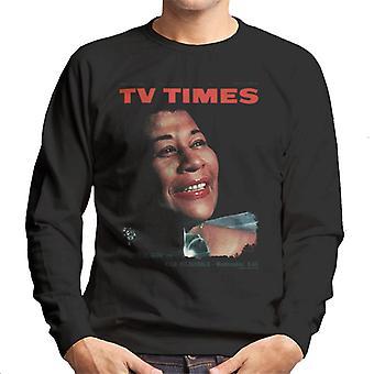 TV Zeiten Ella Fitzgerald 1964 Cover Herren Sweatshirt