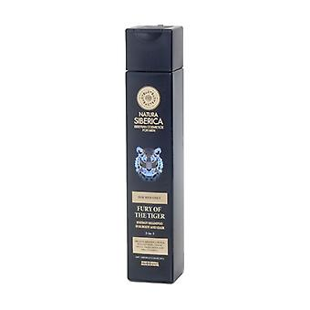La Furia del Tigre - 2 In 1 Hair and Body Energizing Shampoo 250 ml