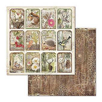Stamperia Wald Tag 12 x 12 Zoll Papierblätter (10pcs) (SBB660)