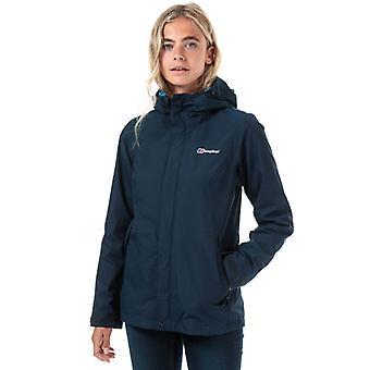 Women's Berghaus Elara Gemini 3-in-1 Waterproof Jacket in Blauw