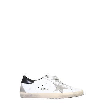 Goldene Gans Gmf00102f00031810220 Herren's Sneakers aus weißem Leder