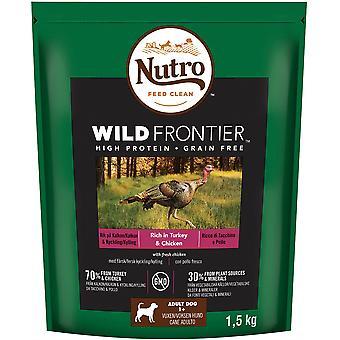 Nutro Dog Dry Wild Frontier Adult Medium Rich In Turkey & Chicken - 1.5kg