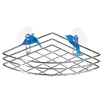 Tatkraft, Dolphin Blue - Shower basket