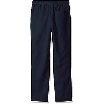 Brand- LOOK by Crewcuts Boys' Lightweight Pull on Chino Pant, Navy, X-...
