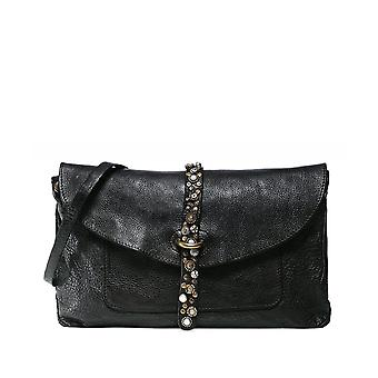 Campomaggi Embellished Leather Crossbody Bag