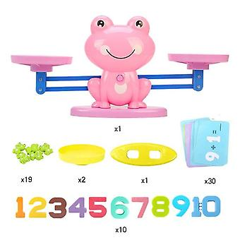 Monkey Digital Balance Scale Toy Early Learning Balance Children Enlightenment Digital Addition And Subtraction Math Scales Lelut