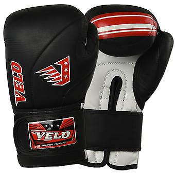 VELO Cowhide Leather Boxing Gloves DSH1