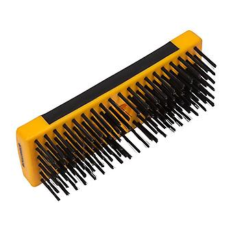 Roughneck Heavy-Duty Scrub Brush Soft-Grip 200mm (8in) NO Handle ROU52060