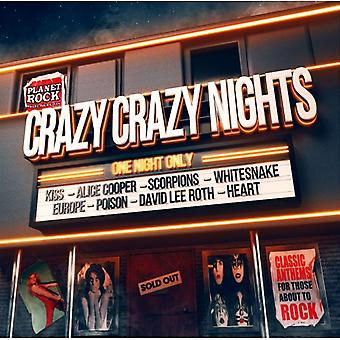 Artistes divers - Crazy Crazy Nights CD