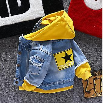 Boy Girl Denim Jackets Jeans Coat Outerwear Clothing - Spring Autumn Cloths