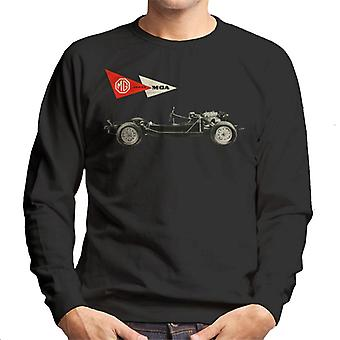 MG MGA Series British Motor Heritage Men's Sweatshirt