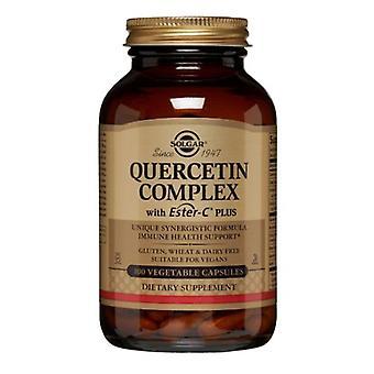 Solgar Quercetin Complex z kapsułkami warzywnymi Ester-C Plus, 100 czapki veg