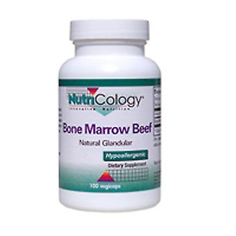 Nutricology/ Allergy Research Group Bone Marrow Beef Natural Glandular, 100 caps