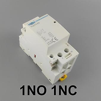 P 63a 220v/230v 50/60hz Din Rail المنزلية Ac Modular Contactor 2no أو 2nc أو