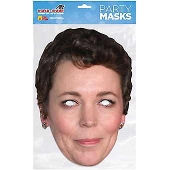 Mask-arade Olivia Colman Celebrities Party Face Mask