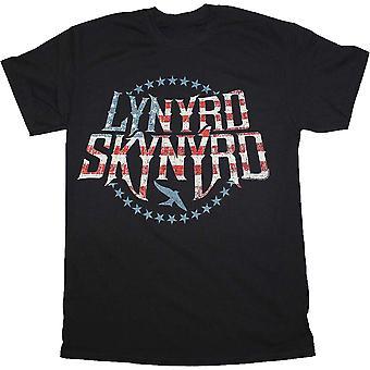 חולצת לוגו פטריוטי לינרד סקינרד