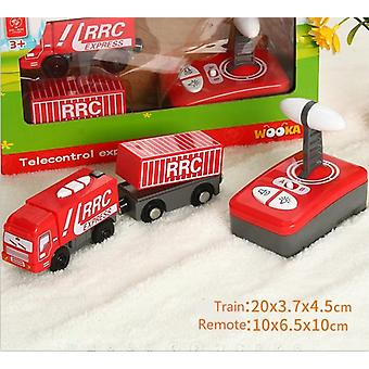 Remote Control Electric &magnetic Slot Compatible Wooden Track, Car, Train Toy