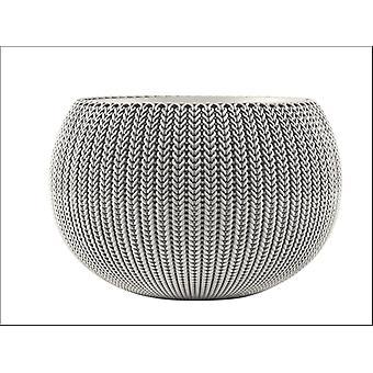 Stewart Knit Cozies Planter Grey Medium 7313084