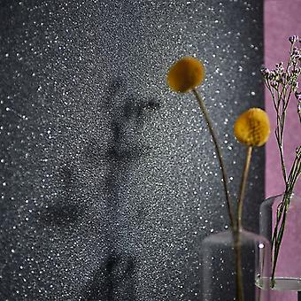 Wallpaper rolls 4 pcs. Gentle shimmer black 0.53×10 m