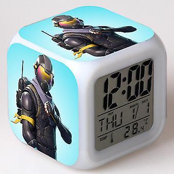 Colorful Multifunctional LED Children's Alarm Clock -Quinze dias #35