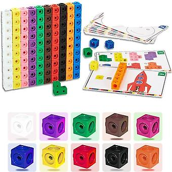 Graphics Math Link, Geometric Counting Cubes, Snap Blocks, Building Kit