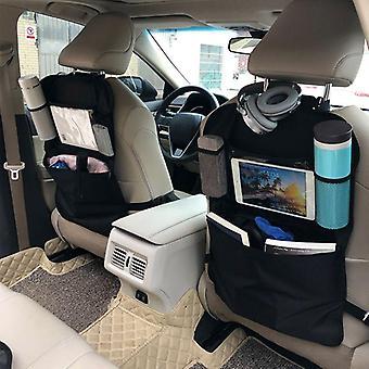 Tylny fotel samochodowy Organizer Przednie siedzenie Przechowywanie Kids Pocket Bag Auto Travel Kick Mat