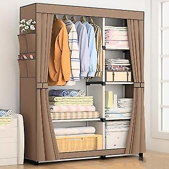 Diy Non-woven Fold Portable Storage, Quarter Wardrobe, Cabinet Bedroom