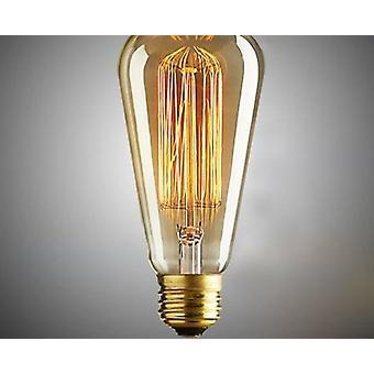 retro lampe st64 vintage edison pære E27 glødepære filament lampe lampada